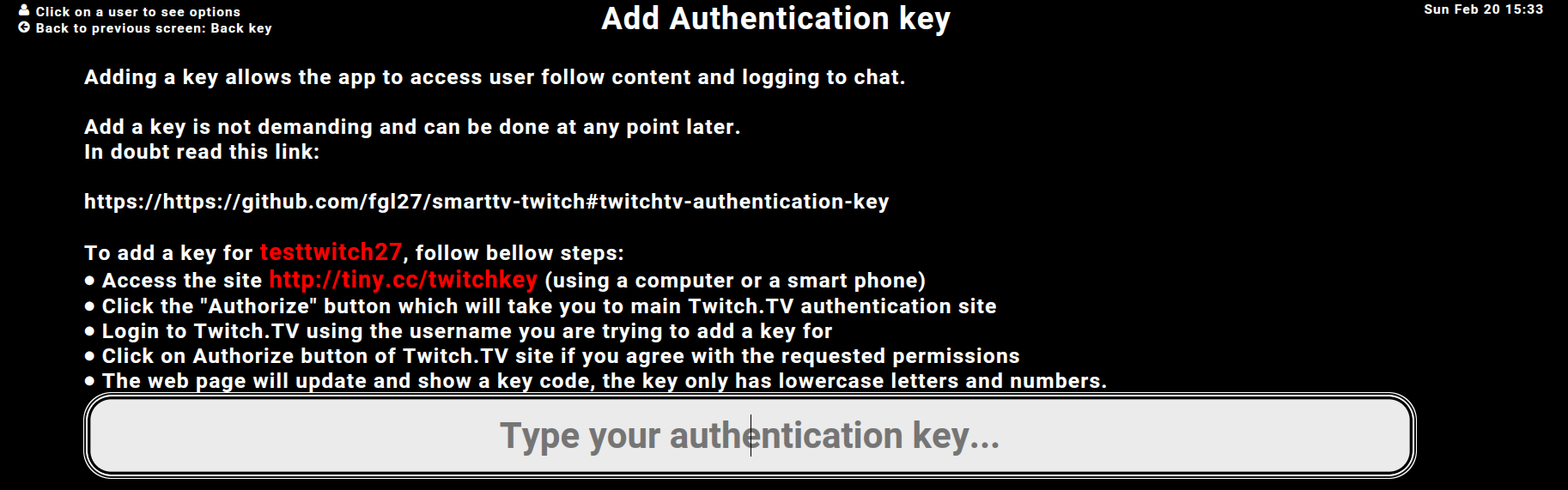 Twitch Tv App For Samsung Tv Authorization Page